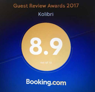 booking customer review kolibri